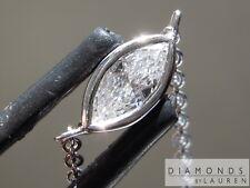 .20ct F-G VS1 Marquise Diamond Necklace R7201 Diamonds by Lauren