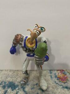 Earthworm Jim Action Figure 90s Vintage Toy Battle Damaged