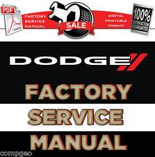 Dodge Grand Caravan 2008 2009 2010 Factory Repair Service Manual Workshop