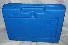 Vintage Lego Blue Samsonite Plastic Tote, Case, Storage - Suitcase Container Bin