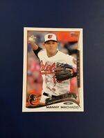 2014 Topps #24 Manny Machado Rookie Future Stars Orioles Padres