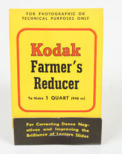 Kodak Farmer's Reducer NOS Sealed Photography Developing Darkroom Slides Vtg
