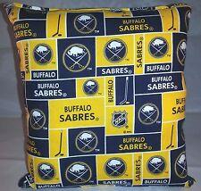 Sabres Pillow Buffalo Sabres Pillow NHL Handmade in USA