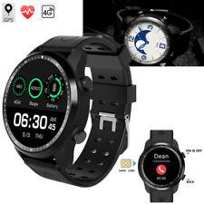 4G Bluetooth Smart Watch Wristwatch GPS Heart Rate Watch For iPhone Samsung Mens