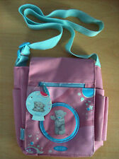 Bag Me To You Tatty Teddy Handbag Pink With Light Blue Strap  New With Tags