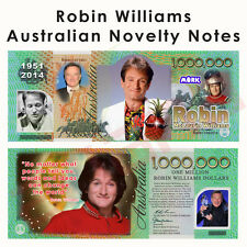 Robin Williams - One Million Australian Dollar Novelty Money