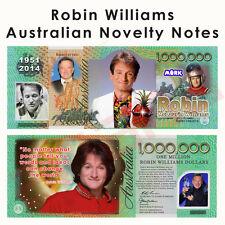 Robin Williams - One Million Australian Dollar Novelty Money