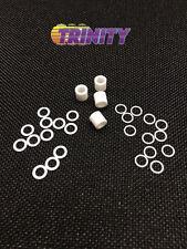 Trinity Ultimate PTFE & Aluminum Brushless Motor Shim Kit (28pc) TEP1177U NEW!!