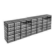 40 Schubladen Regal transparent Schübe Kleinteilemagazin endlos erweiterbar