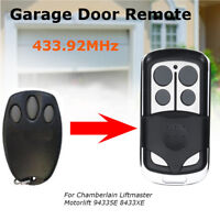 4 Button Garage Door Remote Control For Chamberlain Liftmaster Motorlift 8433XE