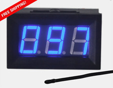 Uctronics 0 167f Fahrenheit Digital Temperature Meter Blue Led Display Mf55 Typ