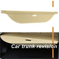 For Land Rover Discovery 5 Rear Trunk Cargo Cover Security Shield Beige Shade