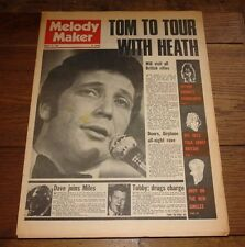 MELODY MAKER 17 AUG 1968 BEATLES TUBBY HAYES KINKS JETHRO TULL AMEN CORNER