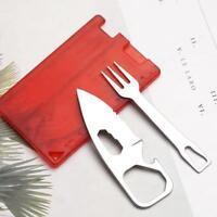 Outdoor Multitool Werkzeug Messer Gabel Outdoor Camping Messer Gabel Sicherheit