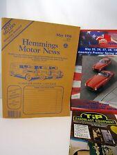 Vintage May 1990 Hemmings Motor News Auto Truck Parts Magazine '60 Vette
