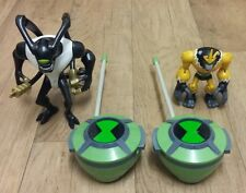 Ben 10 Figures Bundle SHOCKSQUATCH, FEEDBACK & WALKIE TALKIES Joblot Toys
