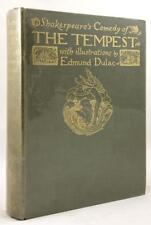 Shakespeare's Comedy of The Tempest  by William  Shakespeare 1908 London illustr