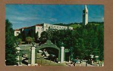 Berkeley,CA, Sather Gate University of California Mike Roberts #C730