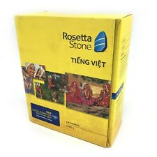 Rosetta Stone VIETNAMESE Version 4 Level 1 33001 #0018