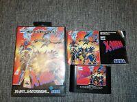 X-Men Boxed Complete with Manual Sega Mega Drive Game XMen