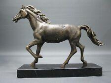 Caballo Estatua Auf Zócalo Mármol 23Cm 1,7 Kg Bronce Colores Estrés