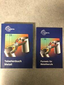 Tabellenbuch Metall Europa-Lehrmittel 42. Aufl. 2002 m. Formelbuch