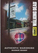 The Walking Dead Season 4/1 M06 Wardrobe Card Woodbury Resident