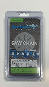 """16"""" Archer Chainsaw Chain 3/8LP pitch FULL CHISEL .050 Gauge 55 DL drive links"""