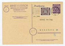 All.Bes./Gemeinsch.Ausg. P 951, + ZusFr., Berlin-Charlottenburg, MS, 20.4.46