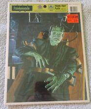Universal Monsters Frankenstein Golden Tray Puzzle - NEW
