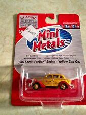 Classic Metal Works 30199 HO Mini Metals '36 Ford Fordor Sedan Taxicab