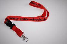 Autec Wheels Schlüsselband / Lanyard NEU!!