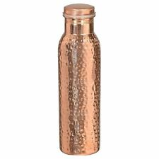 Hammered Pure Copper Water Bottle 950ml (32oz) / Pure Copper Flask Free Shipping