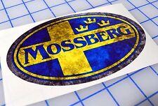 Mossberg Gun Battle Worn Logo Vinyl Sticker Decal 500 tactical Shotgun