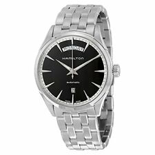 H42565131 Hamilton Jazzmaster Automatic Black Dial Men's Stainless Steel Watch