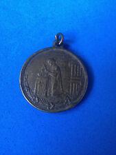 Ancienne Médaille Religieuse Bronze / Antique Medal