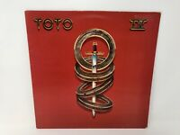 "TOTO - TOTO IV - 12"" VINYL LP - CBS LABEL - WITH INSERT"
