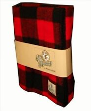 Old Hickory Wool Buffalo Throw Blanket by Pendleton, New