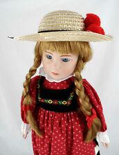 "Vintage Tupperware *I Love Tupperware* German Doll*New* 17 "" High"