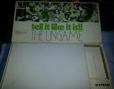VINTAGE TELL IT LIKE IT IS!! THE UNGAME 1973