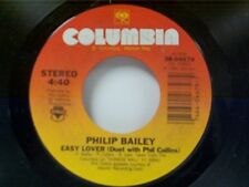 "PHILIP BAILEY / PHIL COLLINS ""EASY LOVER / WOMAN""  45"