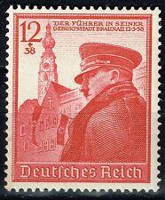Germany WW2 Hitler's 50th Birthday 1939 MLH B137 $12