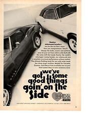 1967-1968 CHEVROLET CAMARO  & 1972 CORVETTE   ~  NICE HOOKER HEADER AD