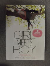 Girl Meets Boy edited by Elly Milner Halls *Uncorrected Proof* P/B Pub.Chronicle