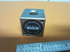 HP HEWLETT PACKARD 10707A BEAM BENDER SPLITTER AS IS BIN#C3-05 INTERFEROMETER