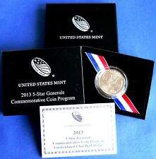 2013-D FIVE STAR GENERAL COMMEMORATIVE UNCIRCULATED HALF DOLLAR-RARE LOW MINTAGE