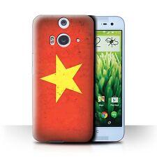 STUFF4 Case/Cover for HTC Butterfly 2/Asian Flag/Vietnam/Vietnamese