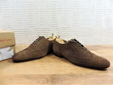 Paul Smith Zapatos Oxford Uk 6 US 7 UE 40 Marrón Ante usaba 3/4 TIMES EN CAJA