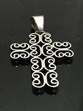 Marie Belen Sterling Silver Cross Pendant