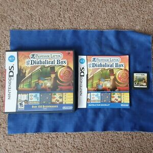 Professor Layton and the Diabolical Box (Nintendo DS, 2009) Game Complete VGC